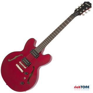 Epiphone Dot Studio Gloss - Cherry - Nickel Hardware