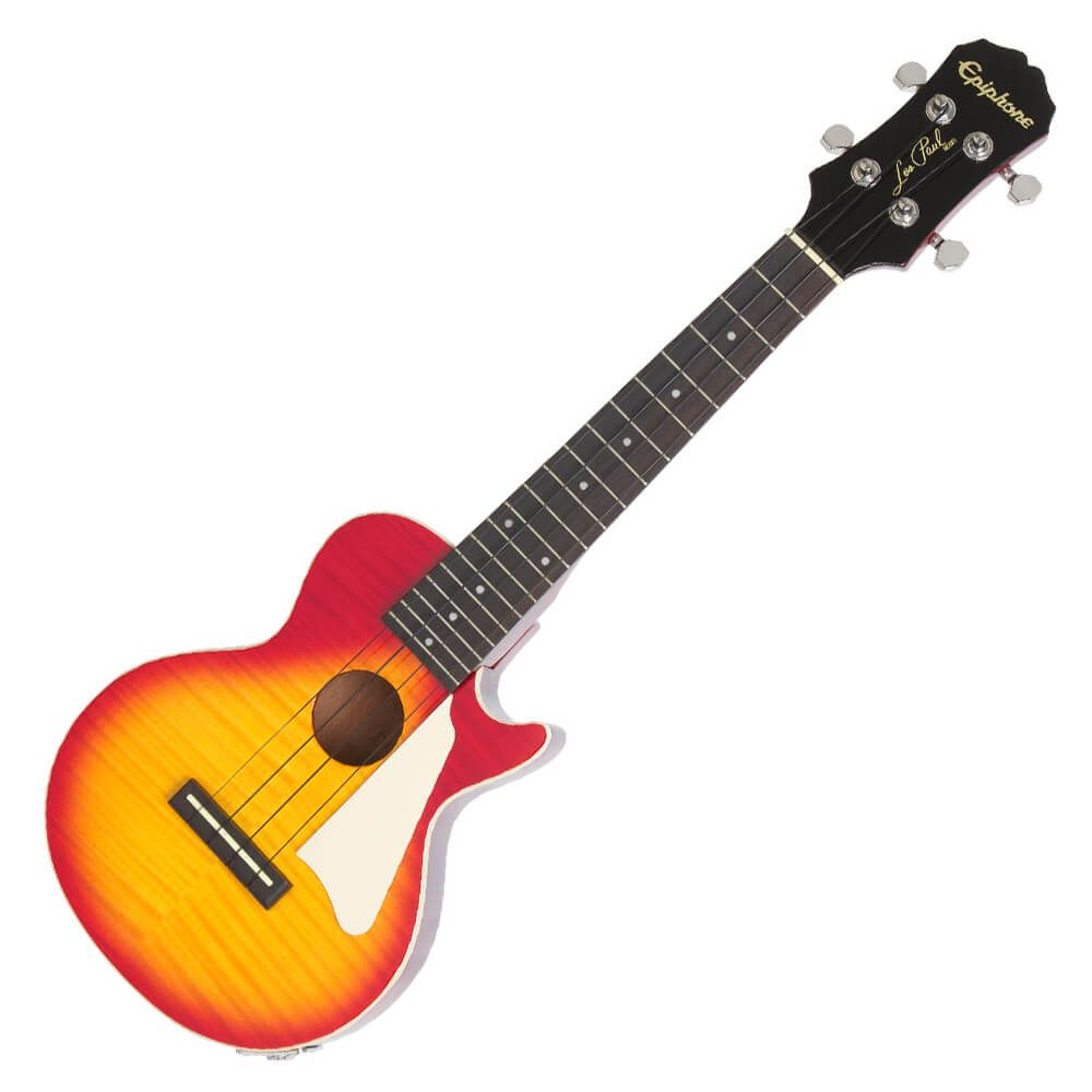 Epiphone Les Paul Acoustic/Electric Ukulele Outfit - Heritage Cherry Sunburst