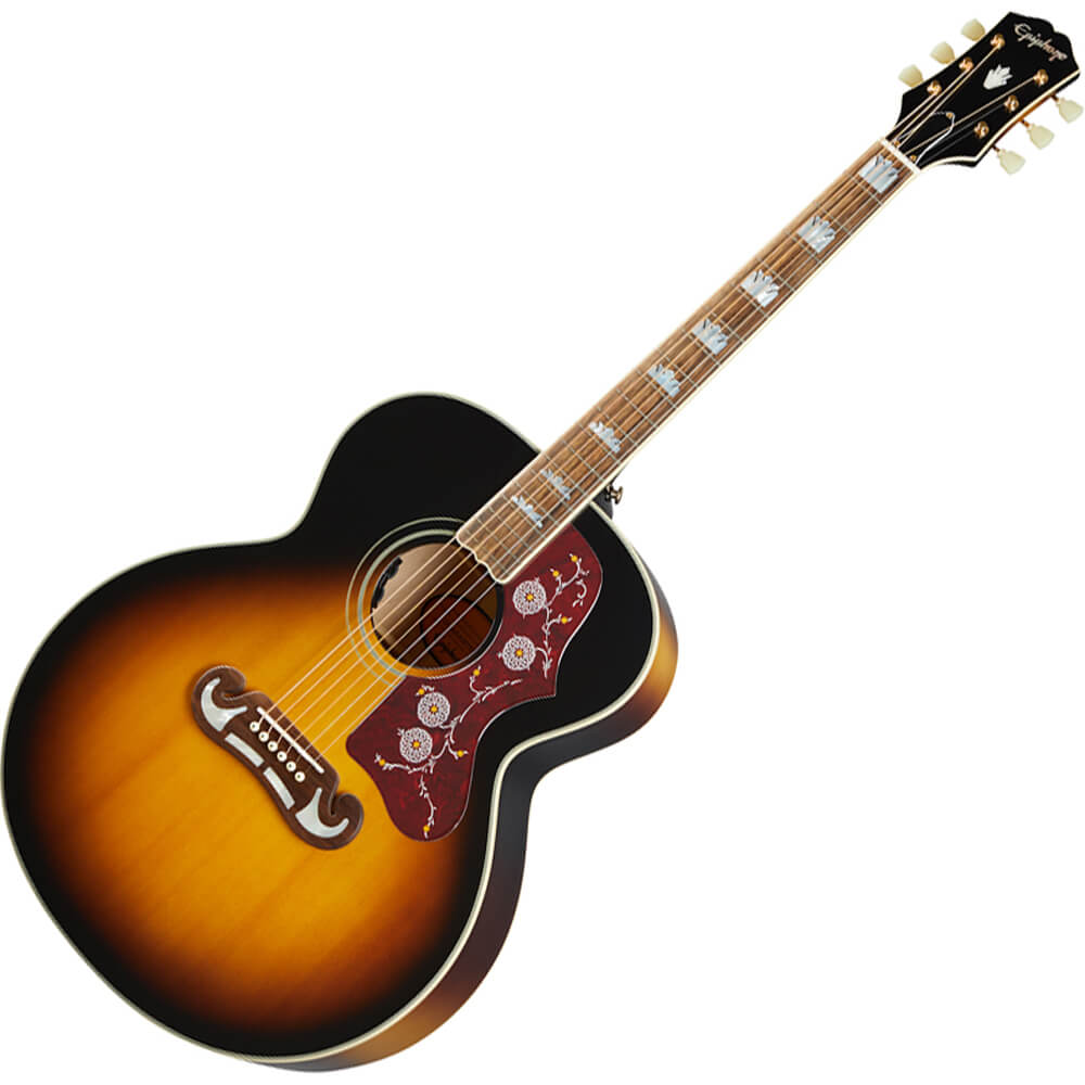 Epiphone Inspired by Gibson J-200 - Aged Vintage Antique Gloss