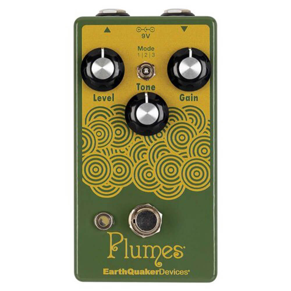 Earthquaker Plumes Small Signal Shredder FX Pedal