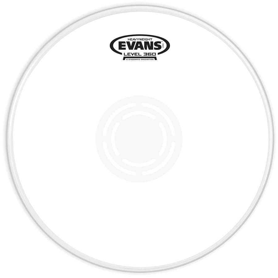 evans heavyweight coated snare drum head
