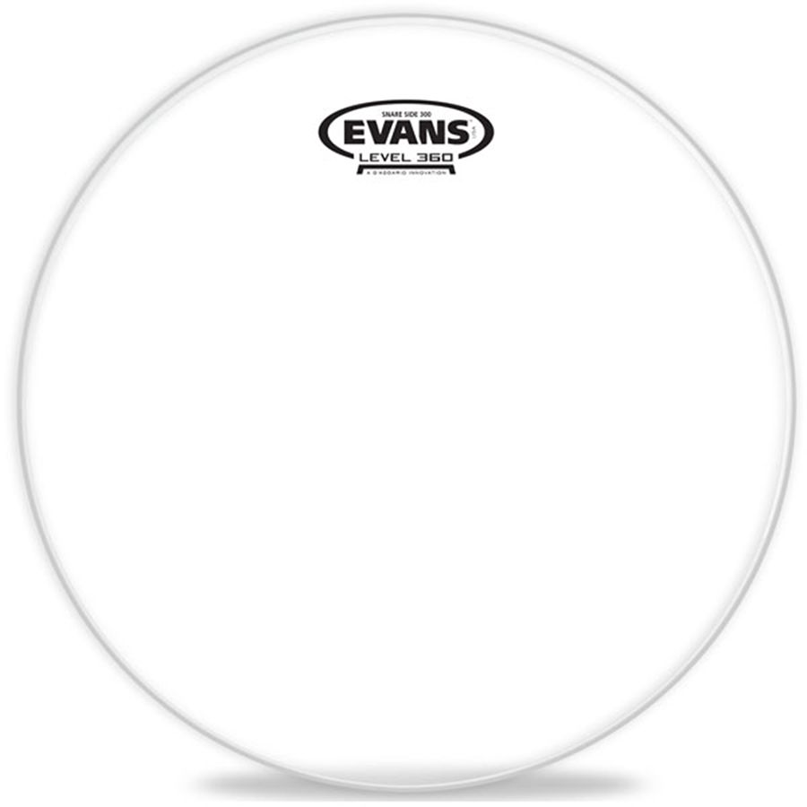 Evans 300 Snare Side Clear Drum Head, 14 Inch