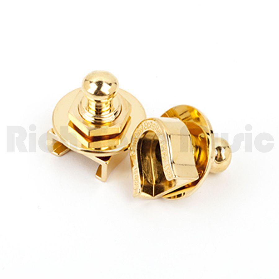 Fender Strap Locks : fender strap locks gold x 2 rich tone music ~ Vivirlamusica.com Haus und Dekorationen