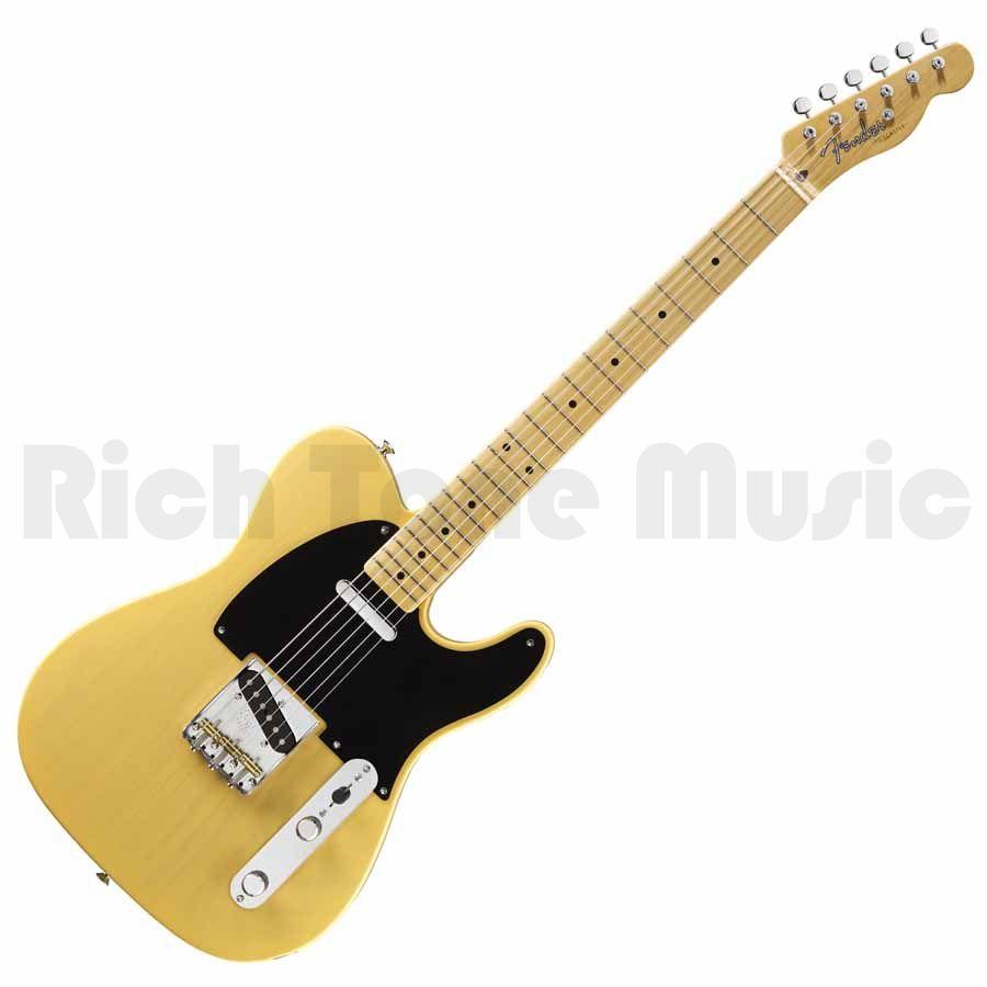 fender american vintage 52 telecaster butterscotch blonde end of line rich tone music. Black Bedroom Furniture Sets. Home Design Ideas