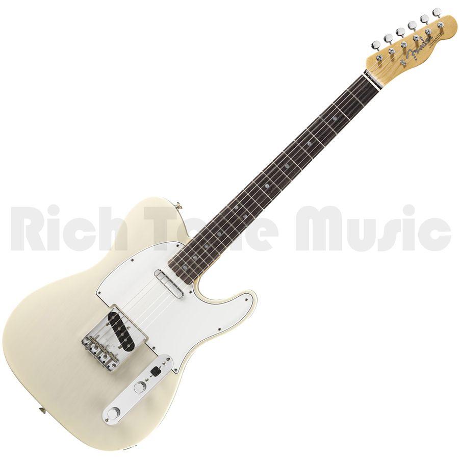 fender 2012 american vintage 64 telecaster aged white blonde rich tone music. Black Bedroom Furniture Sets. Home Design Ideas