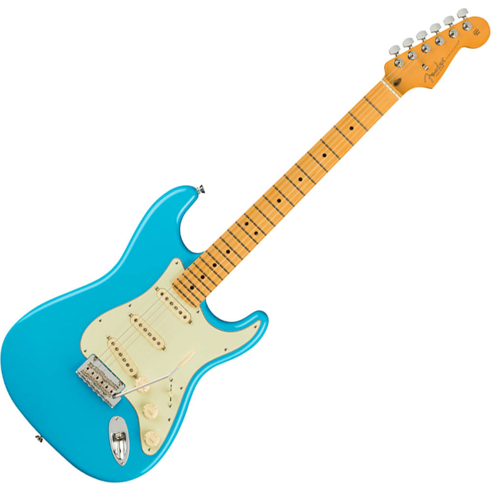 Fender American Professional II Stratocaster - MN - Miami Blue