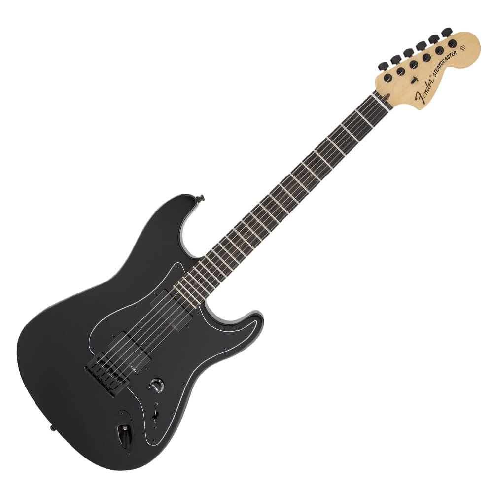 Fender Jim Root Stratocaster - Flat Black - Ebony Fingerboard