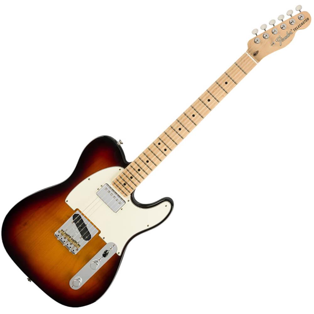 Fender American Performer Telecaster, Humbucking - MN - 3-Colour Sunburst