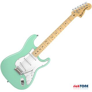 Fender American Special Stratocaster, Maple , Surf Green