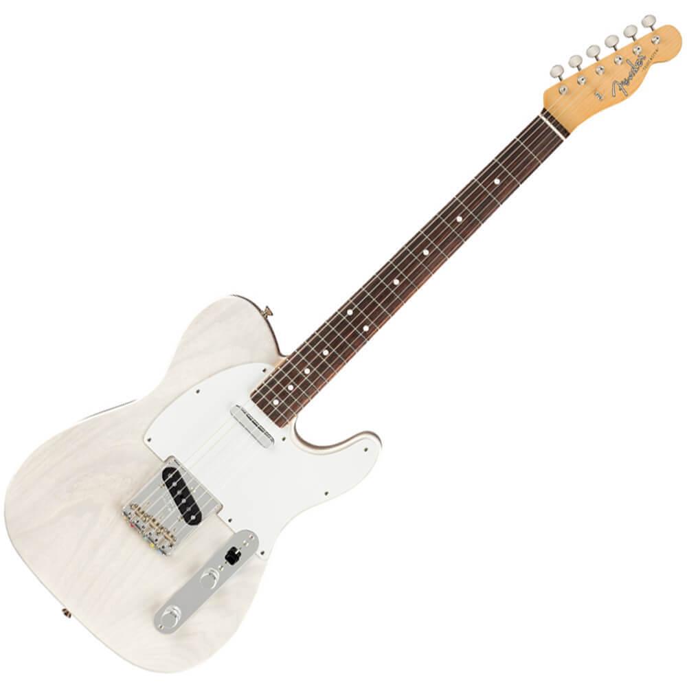 Fender Jimmy Page Mirror Telecaster Artist Model - RW - White Blonde