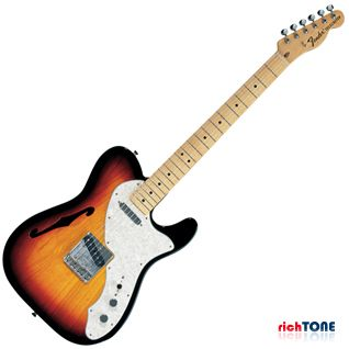 Fender Classic Series 69 Telecaster Thinline MN 3-Color Sunburst