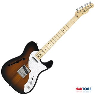 Fender Classic Series 69 Telecaster Thinline MN 2-Color Sunburst
