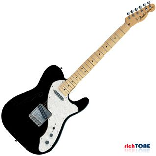 Fender Classic Series 69 Telecaster Thinline MN Black