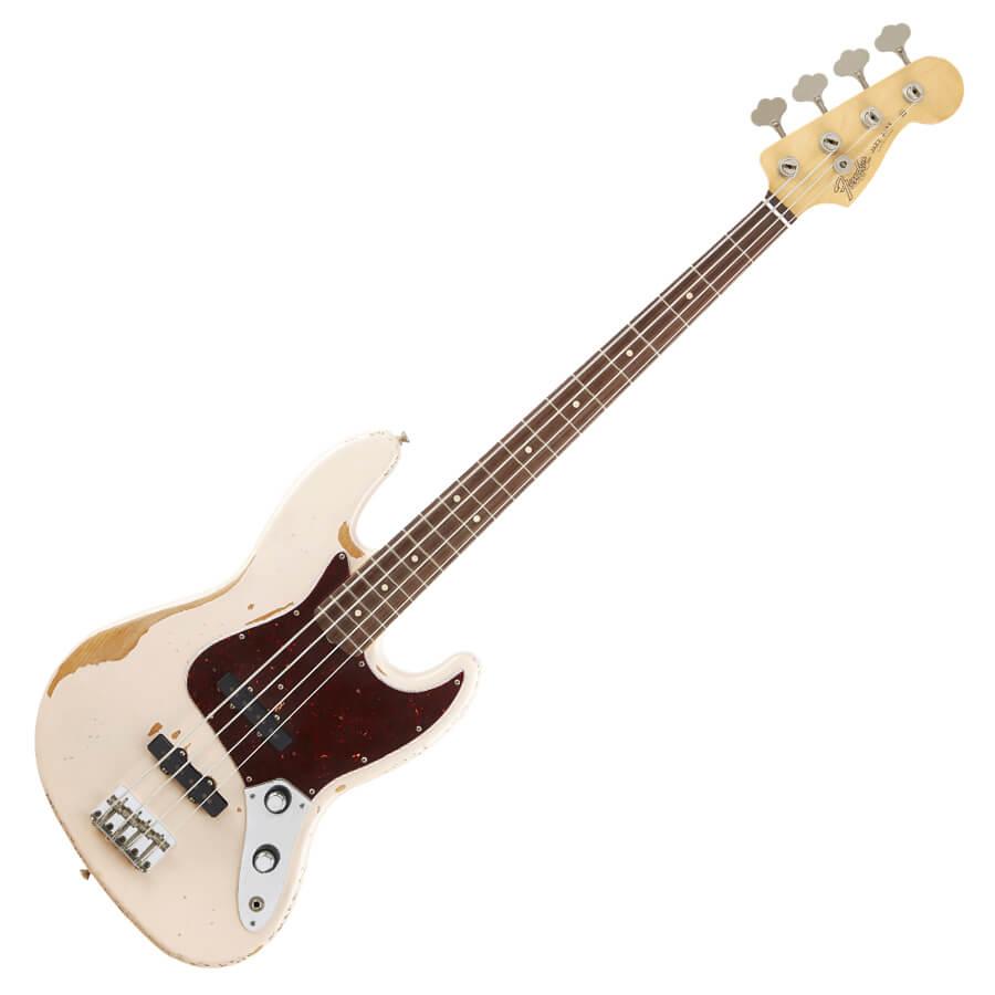 Fender Flea Signature Jazz Bass - Roadworn Shell Pink