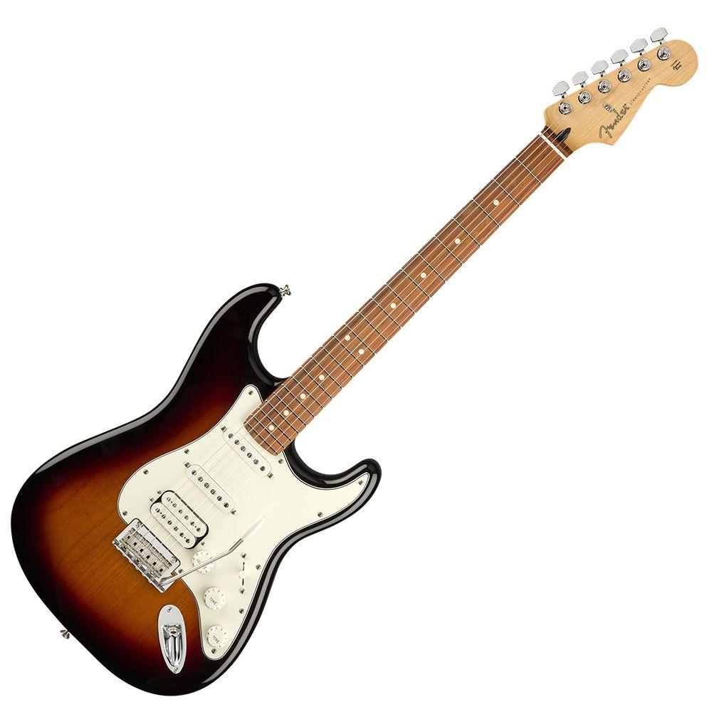 Fender Player Stratocaster HSS - PF - 3-Tone Sunburst