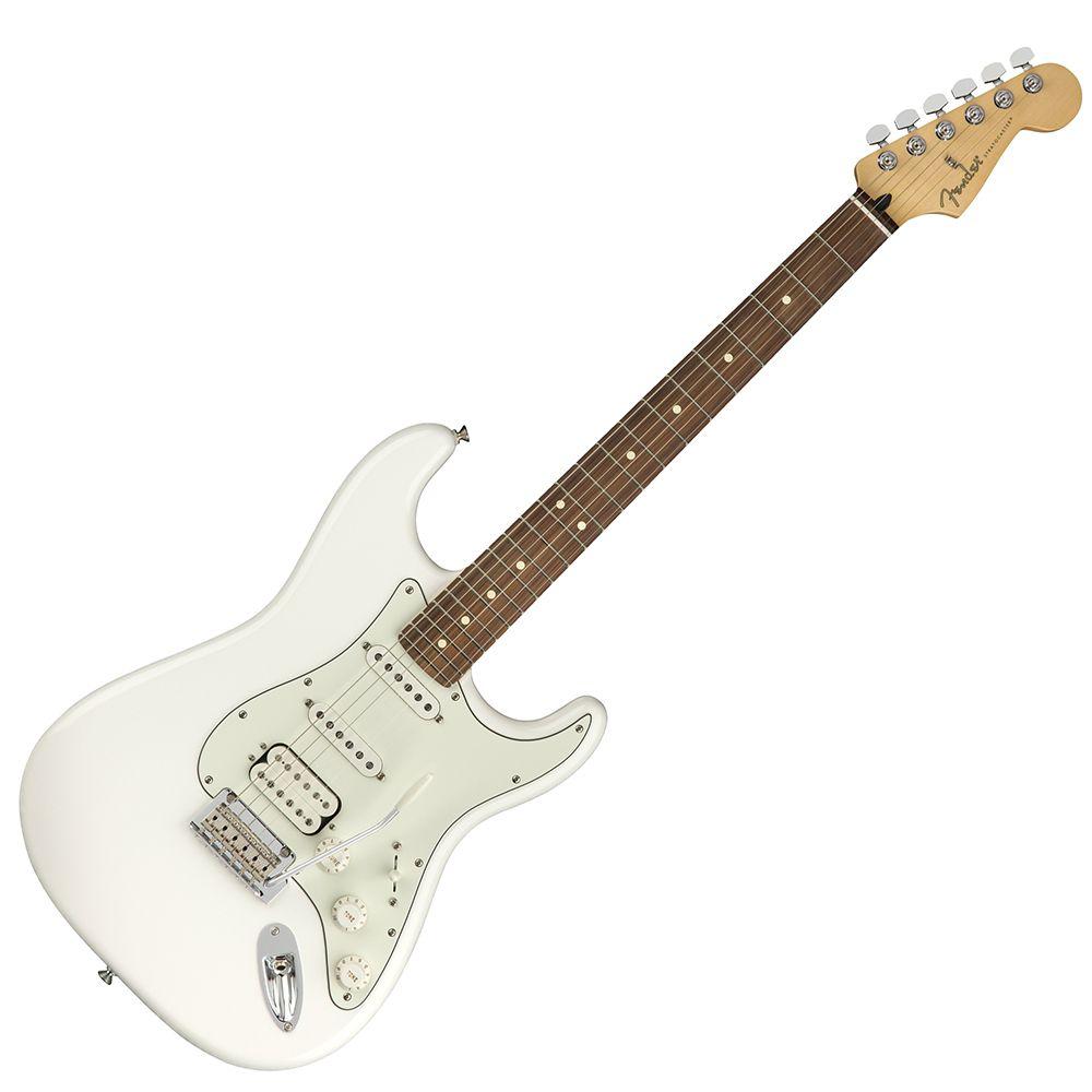 Fender Player Stratocaster HSS - PF - Polar White