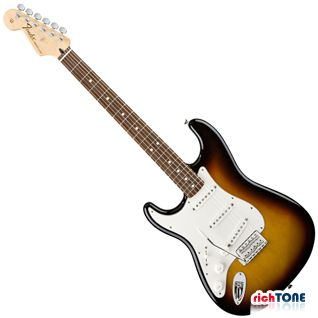 Fender Standard Stratocaster RW Brown Sunburst Left Handed