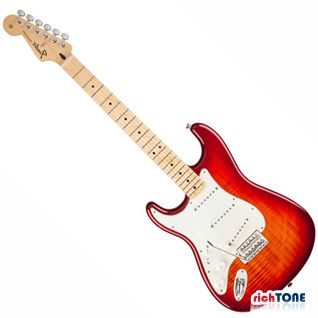 Fender Standard Stratocaster Plus Top - Aged Cherry Burst - LH