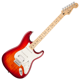 Fender Standard Stratocaster Plus Top - HSS - Aged Cherry Burst