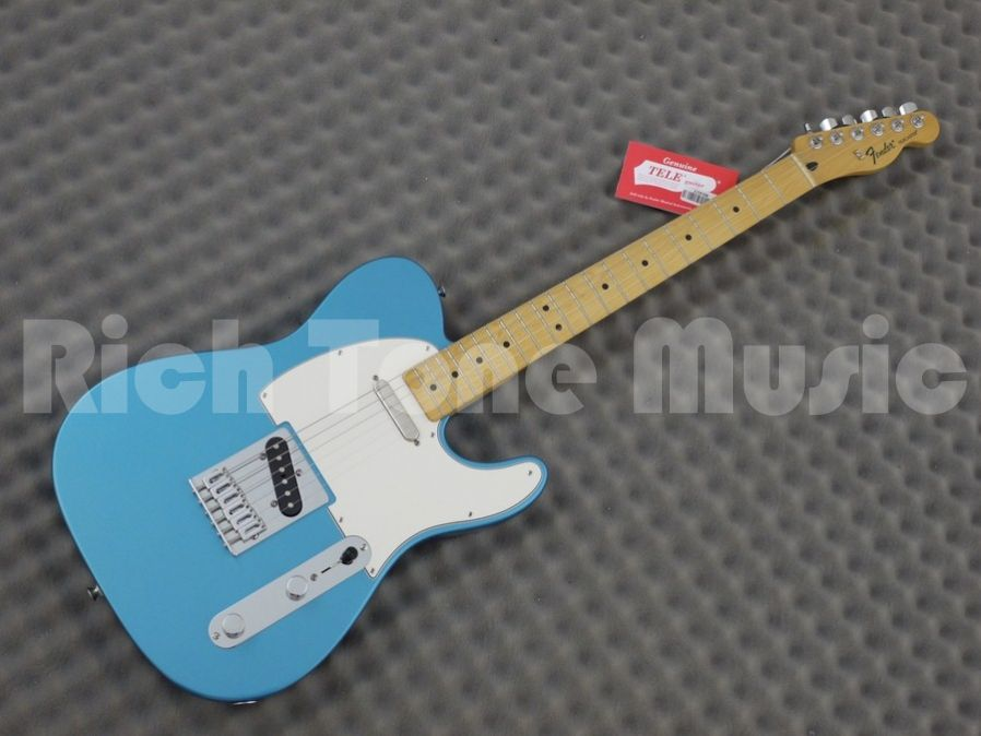 Fender standard telecaster lake placid blue maple neck rich guitar gallery publicscrutiny Image collections