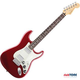 Fender Blacktop Stratocaster HH - Candy Apple Red - RW