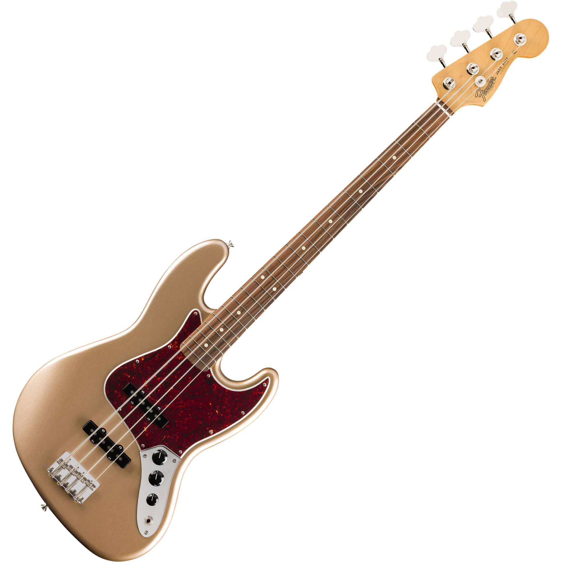 Fender Vintera Series 60s Jazz Bass - PF - Firemist Gold