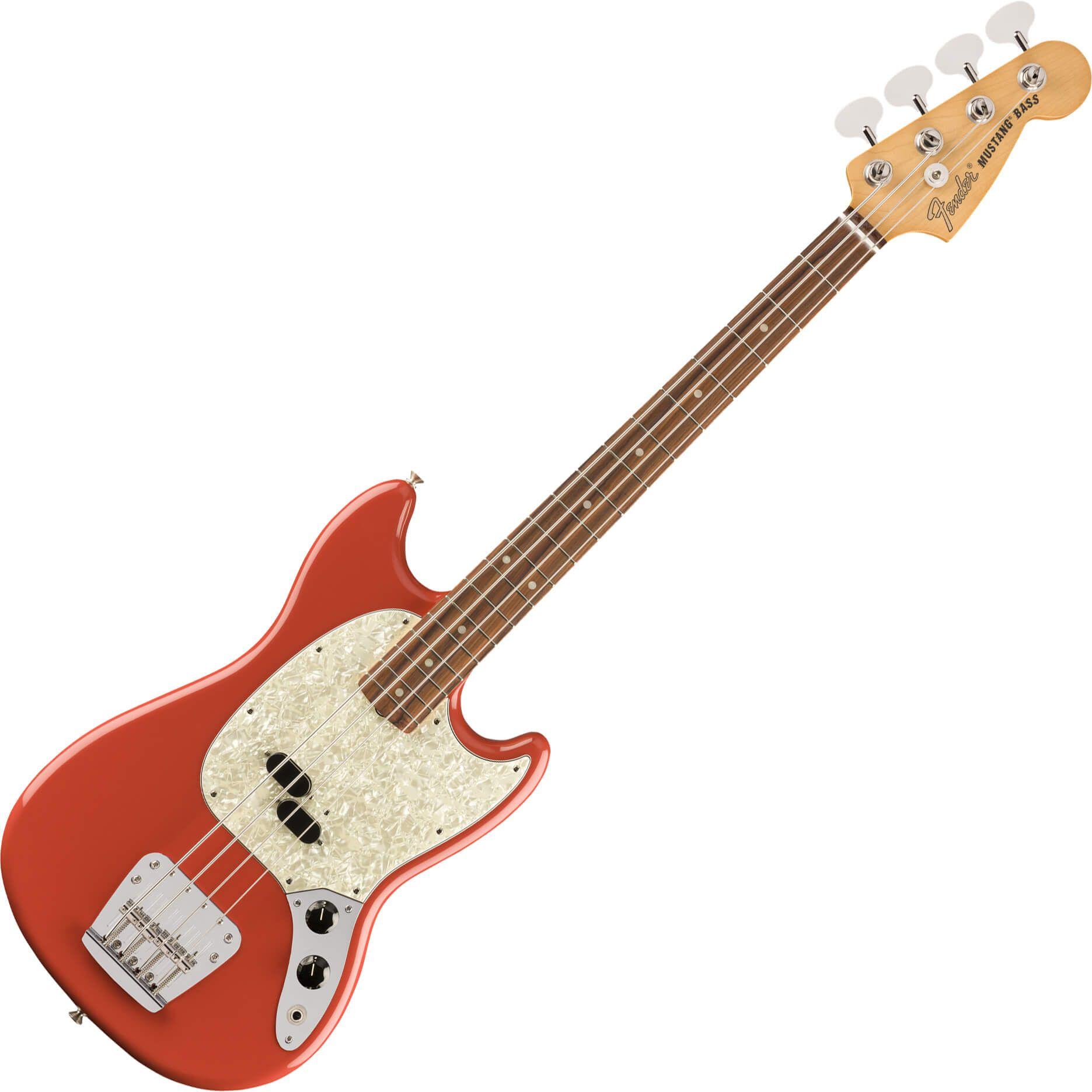 Fender Vintera Series 60s Mustang Bass - PF - Fiesta Red