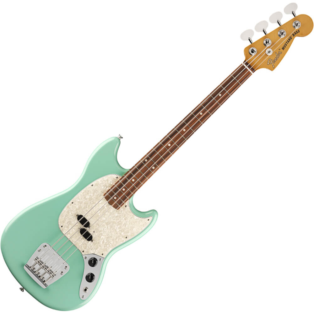 Fender Vintera Series 60s Mustang Bass - PF - Sea Foam Green