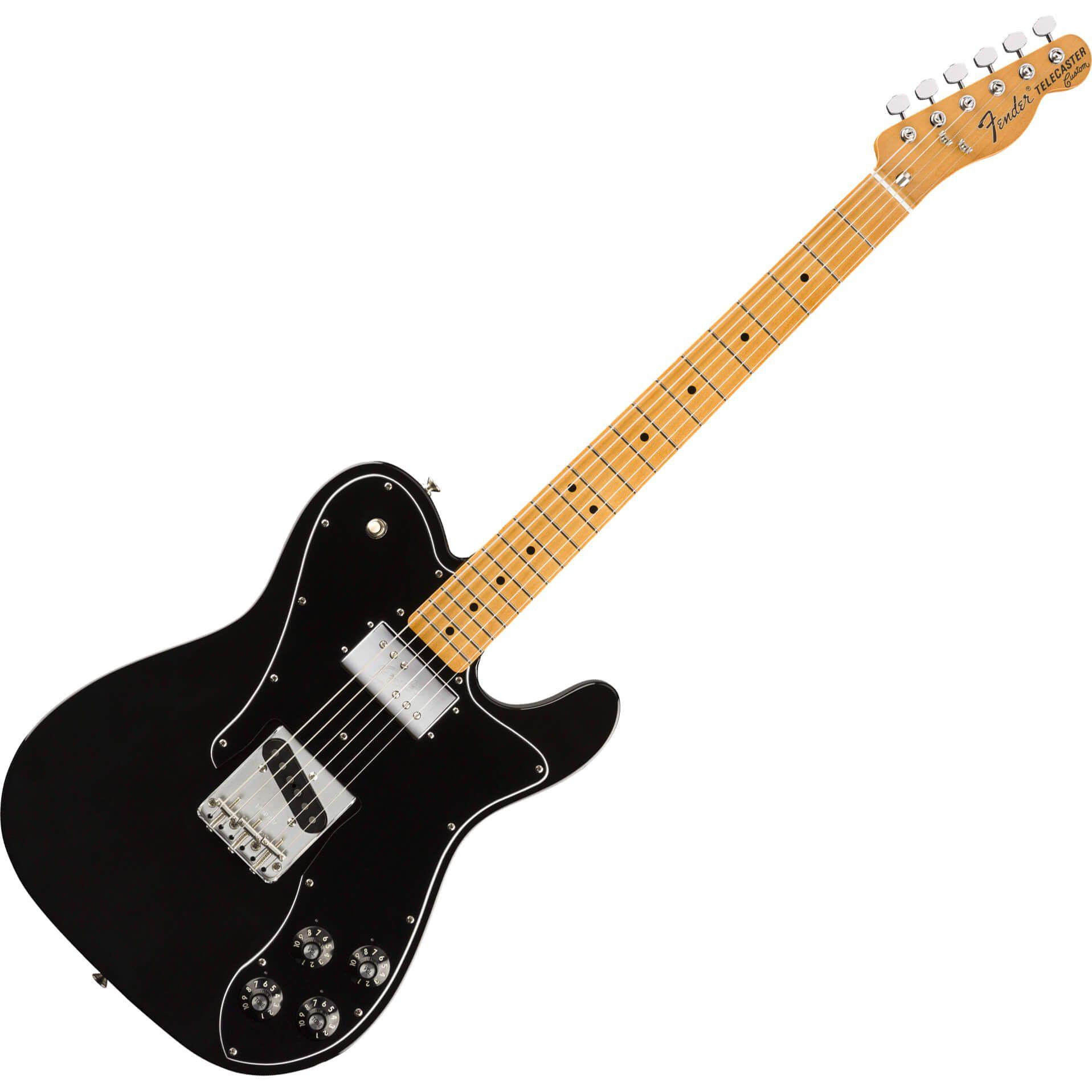 Fender Vintera Series 70s Telecaster Custom - MN - Black