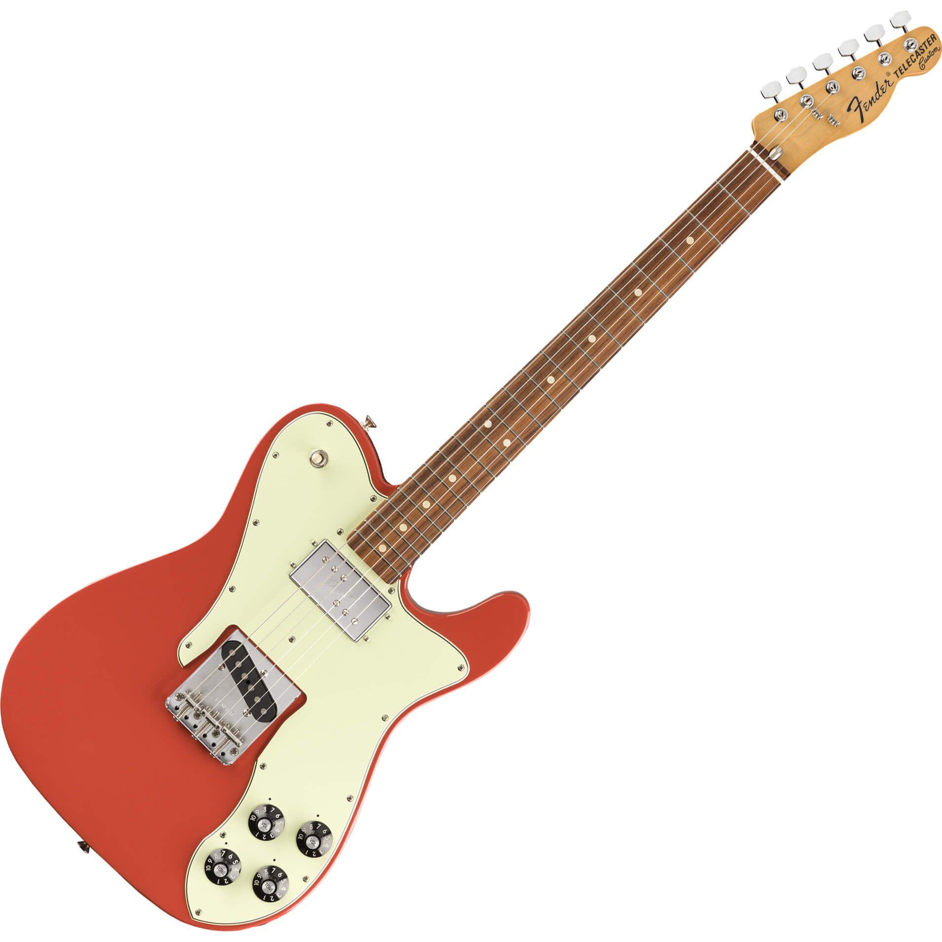 Fender Vintera Series 70s Telecaster Custom - PF - Fiesta Red
