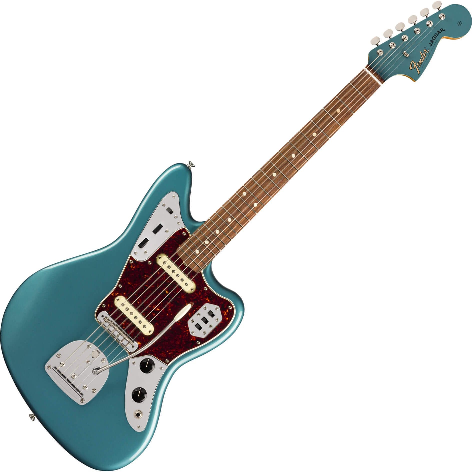 Fender Vintera Series 60s Jaguar - PF - Ocean Turquoise