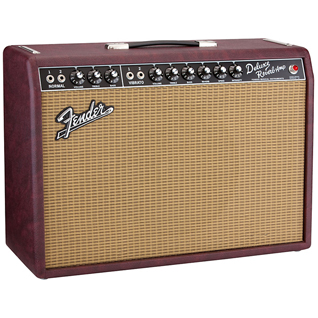 Fender FSR 65 Deluxe Reverb Bordeaux Blues - Wine Red - P12Q