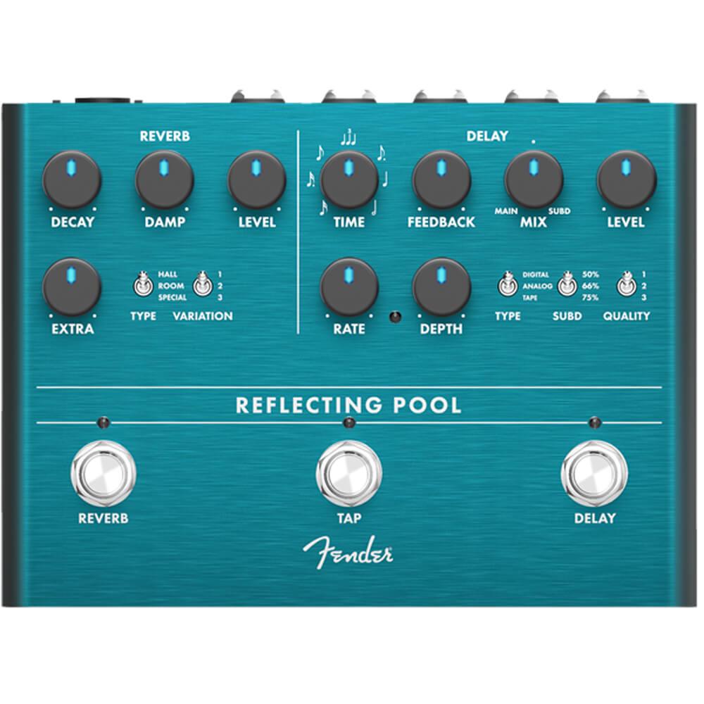 Fender Reflecting Pool Delay / Reverb FX Pedal