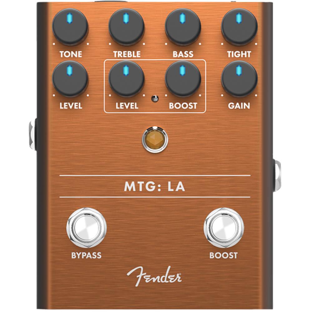 Fender MTG:LA High Gain Tube Distortion FX Pedal