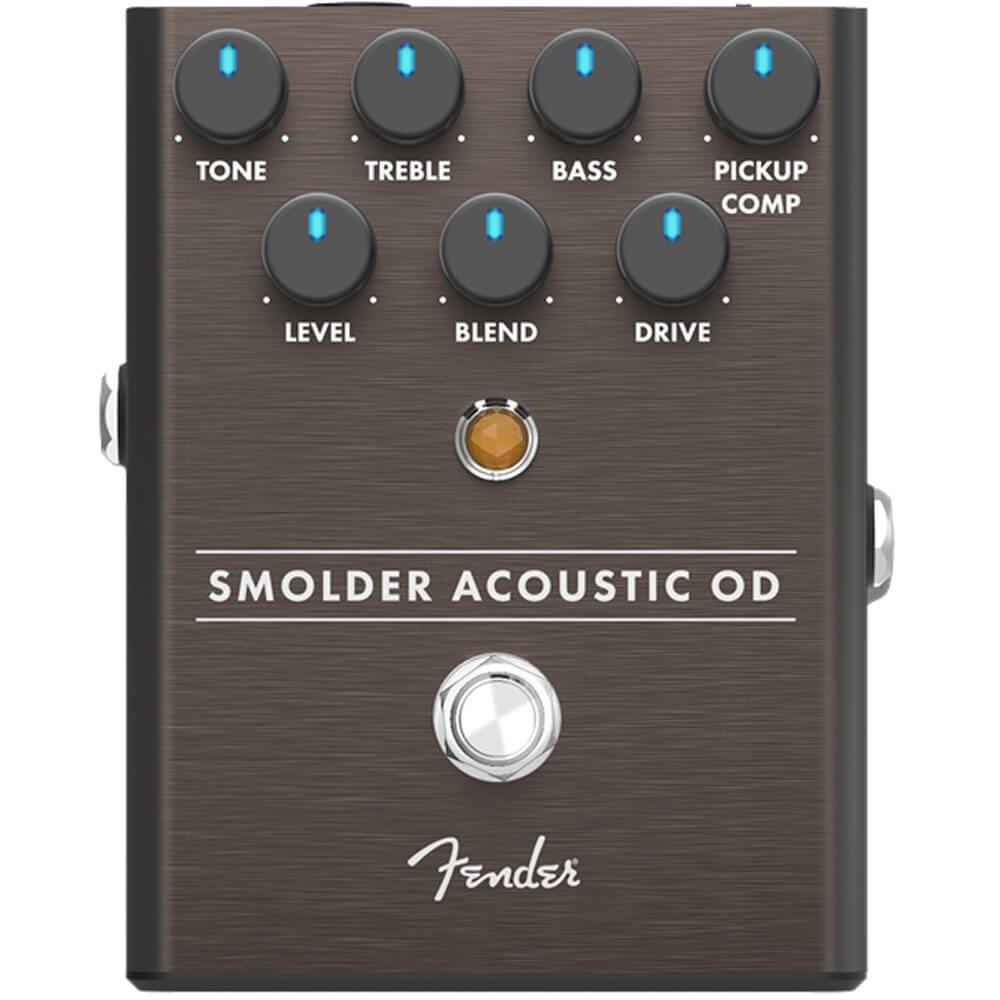 Fender Smolder Acoustic Overdrive FX Pedal
