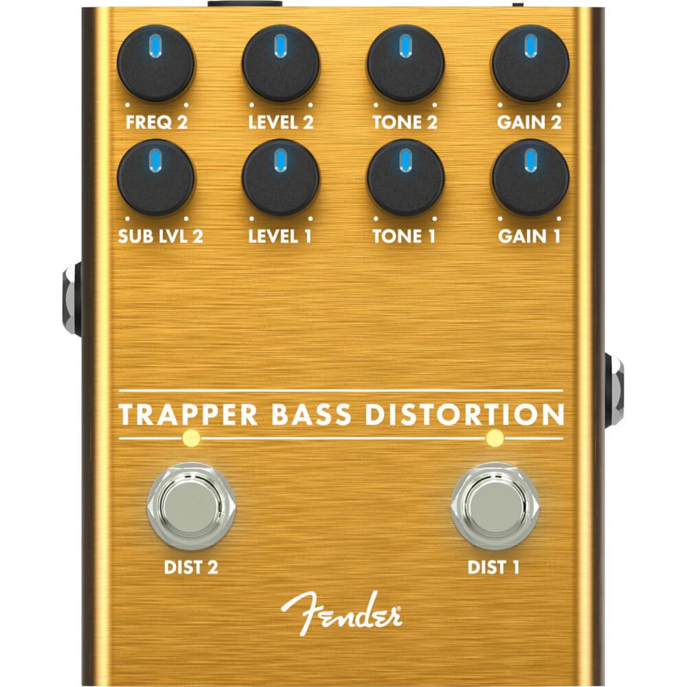 Fender Trapper Bass Distortion FX Pedal