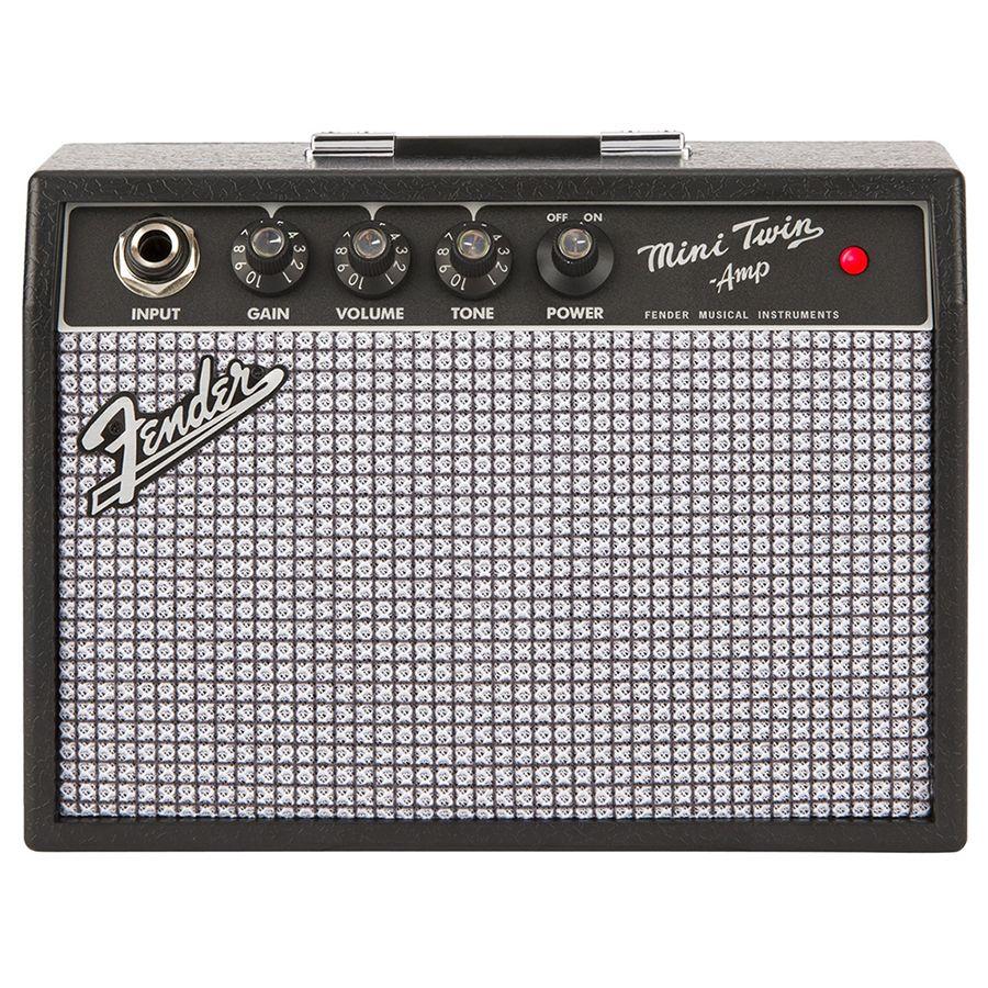 fender mini 39 65 twin amp guitar amplifier rich tone music. Black Bedroom Furniture Sets. Home Design Ideas