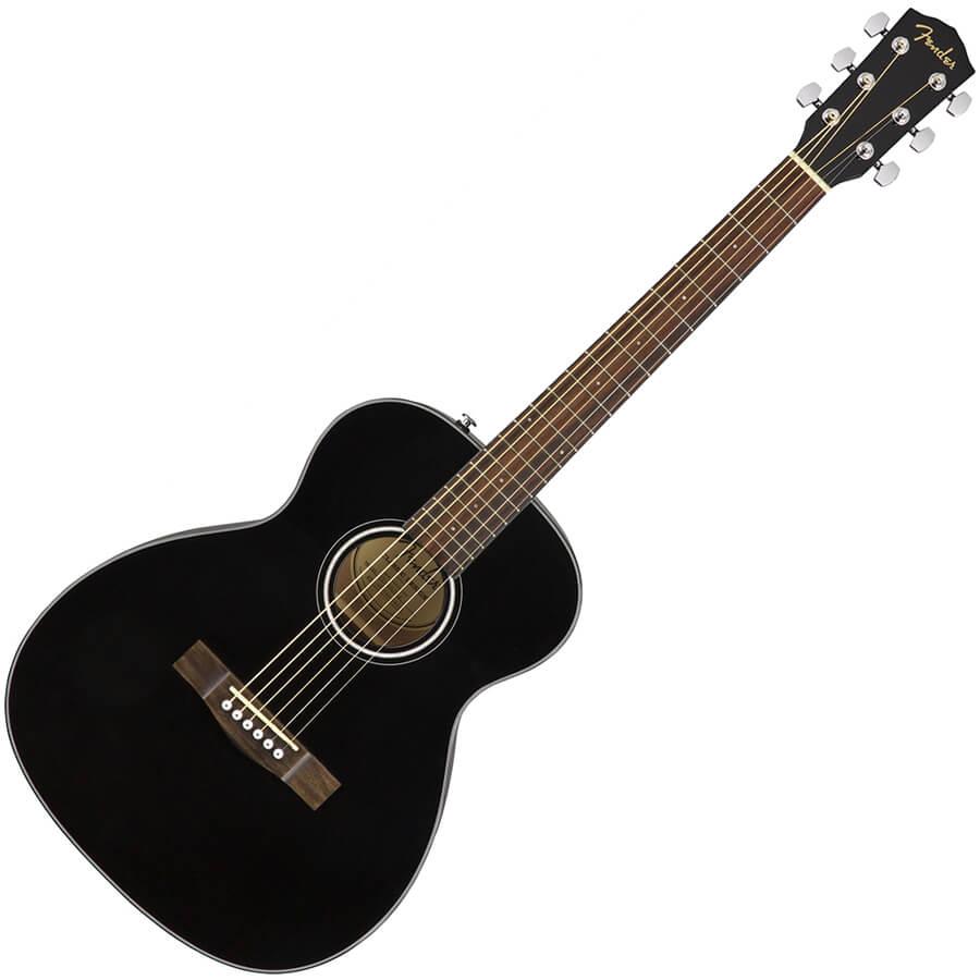 fender ct 60s black acoustic guitar rich tone music. Black Bedroom Furniture Sets. Home Design Ideas