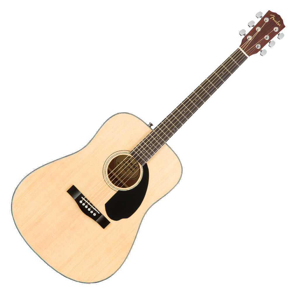 Fender CD-60S Dreadnought Acoustic Guitar - Walnut - Natural
