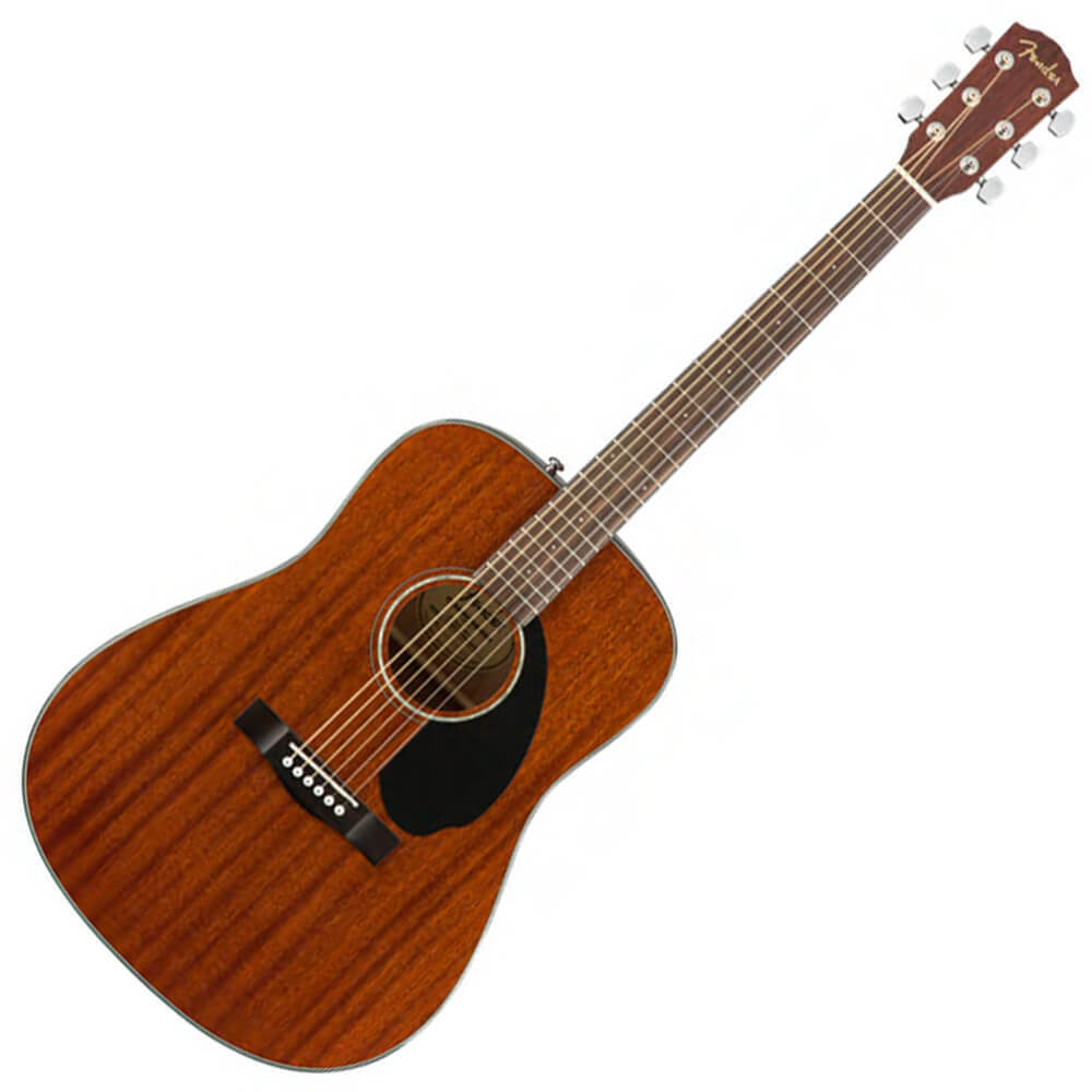 Fender CD-60S Dreadnought - WN - Mahogany