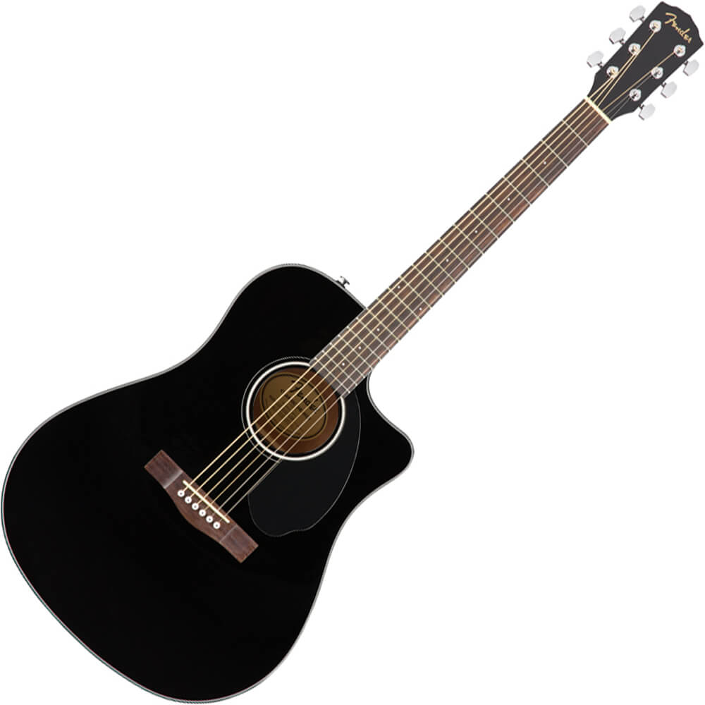 Fender CD-60SCE Dreadnought - Black