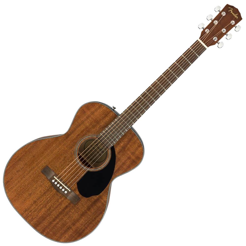 Fender FSR CC-60S Concert Acoustic Guitar, All Mahogany - WN - Natural