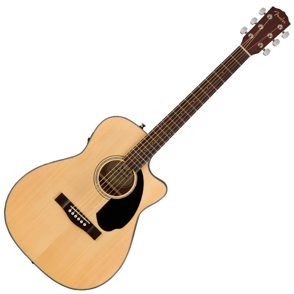 Fender CC-60SCE Concert Electro-Acoustic Guitar - Walnut - Natural