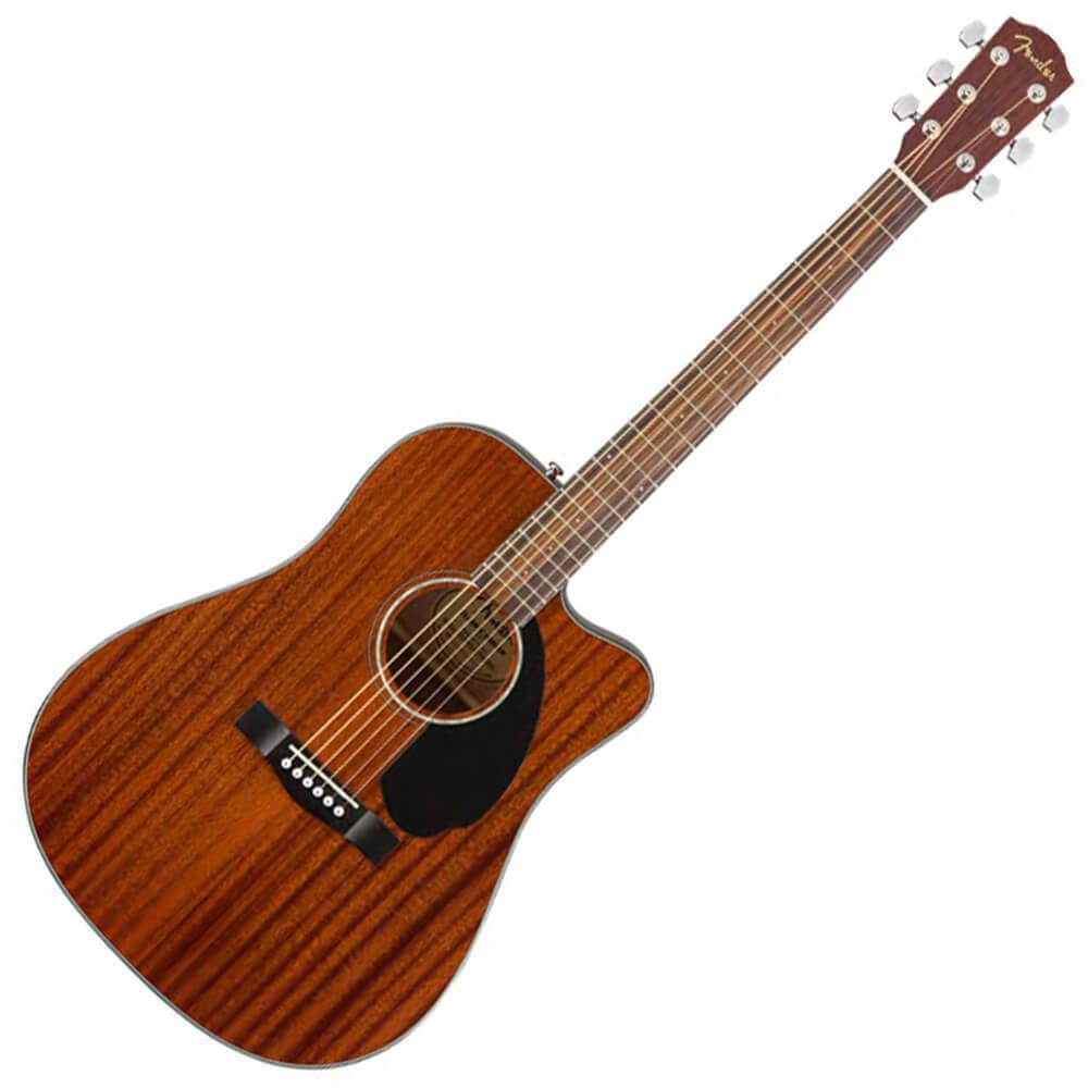 Fender CD-140SCE Dreadnought, All-Mahogany - WN - Natural