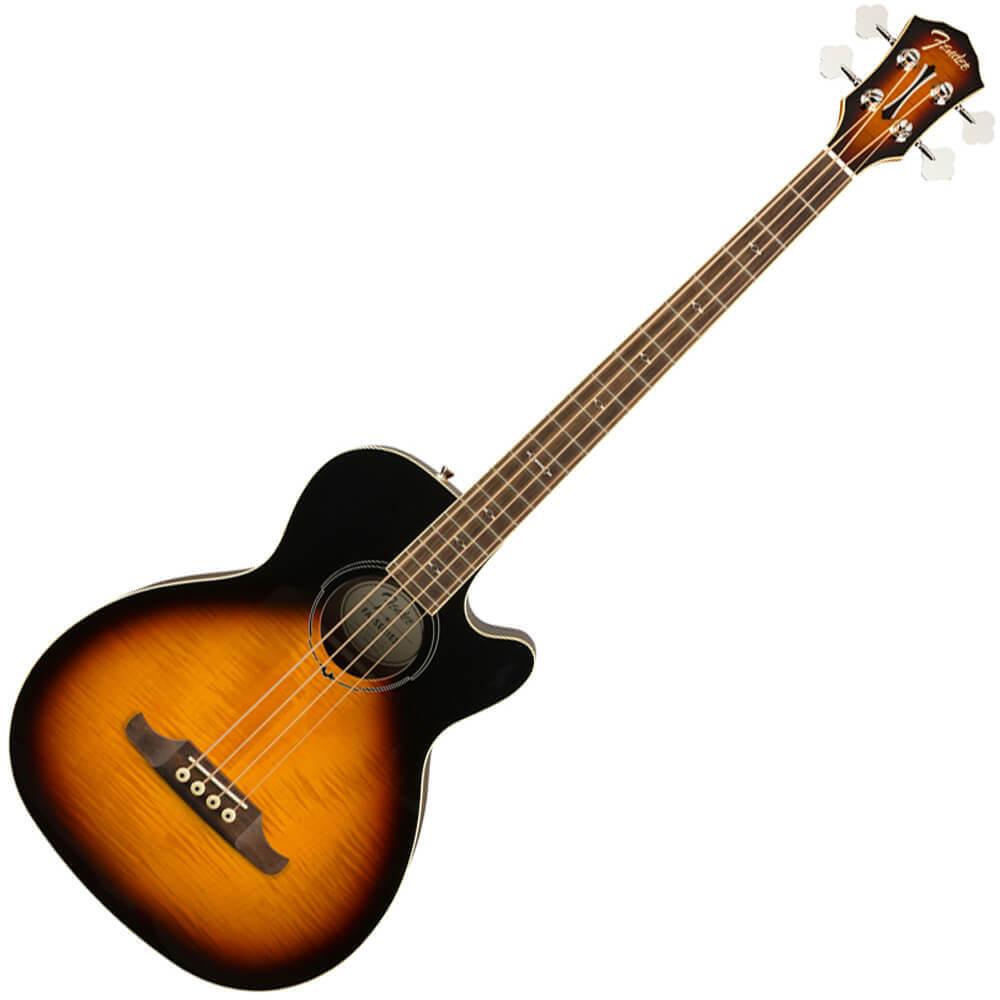fender acoustic bass guitars rich tone music. Black Bedroom Furniture Sets. Home Design Ideas
