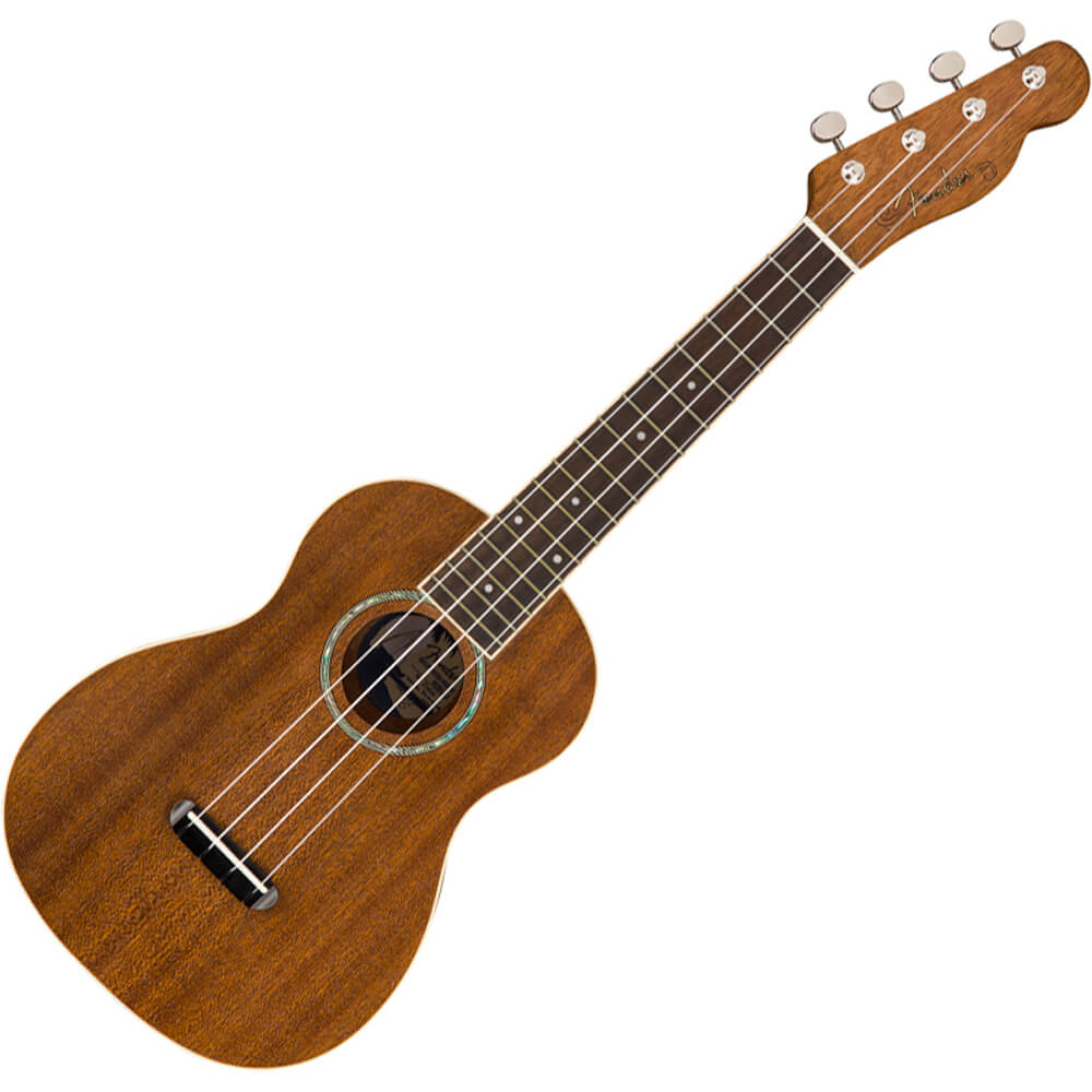 Fender Zuma Concert Ukulele - Walnut - Natural