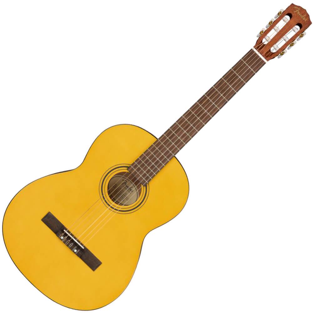 Fender ESC-110 Educational Series Classical Guitar, Wide Neck - Vintage Natural