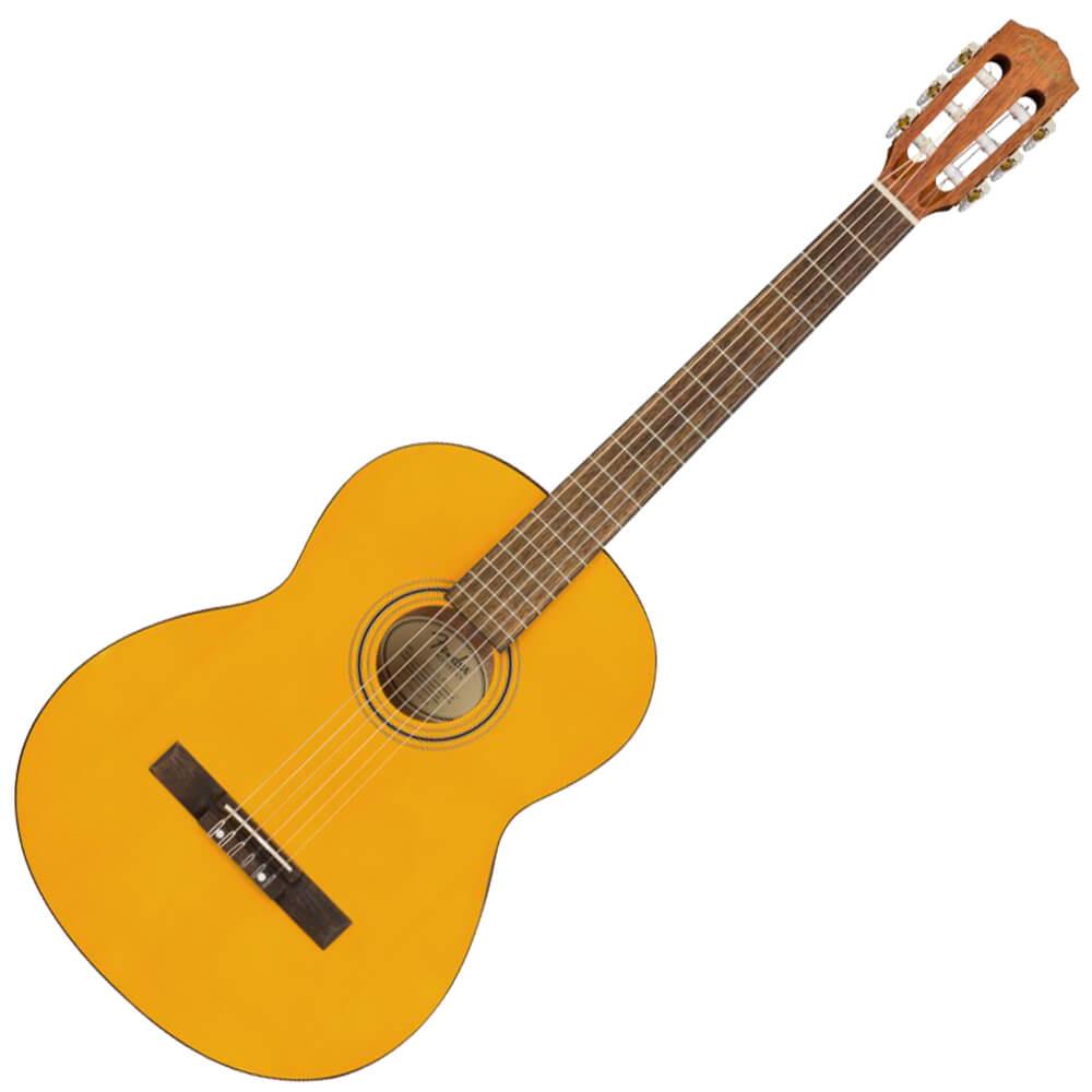 Fender ESC-105 Educational Series Classical Guitar, Slim Nut - Vintage Natural