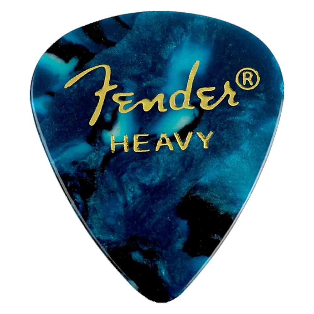 Fender 346 Shape Picks 1//2 Gross Shell Thin x72