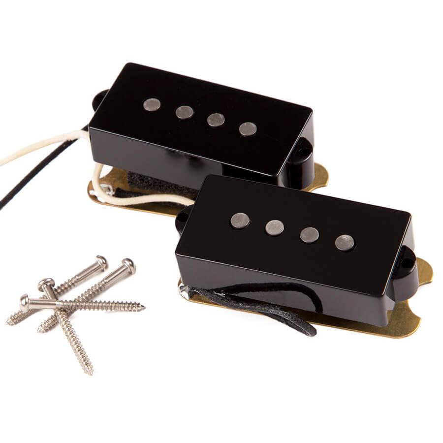 Fender Custom Shop 62 Precision Bass Pickups - Black